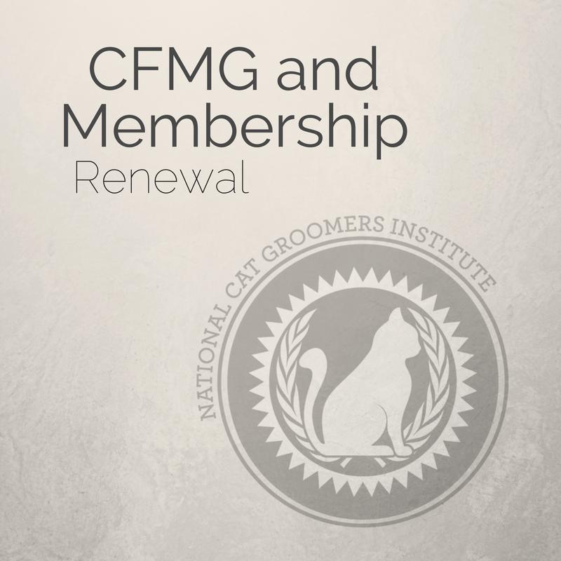 CFMG & Membership Renewal