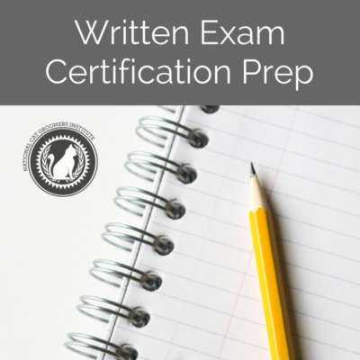 Written Exam Certification Prep course