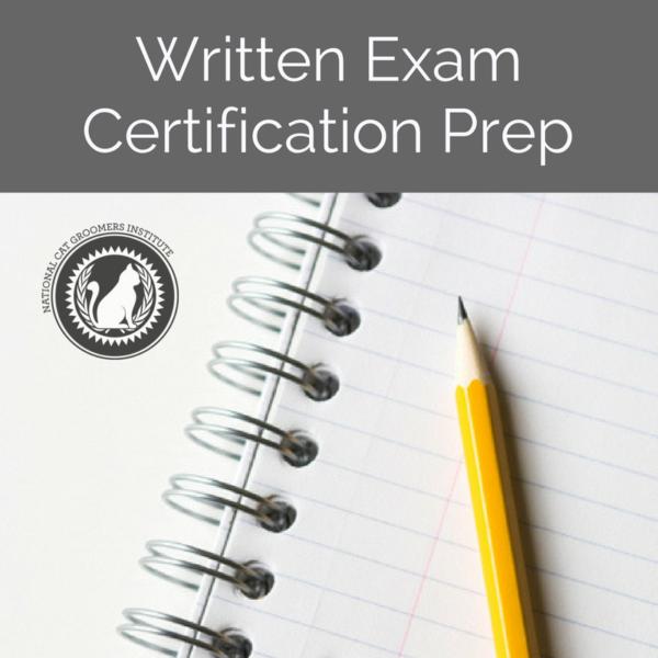 Written Exam Certification Prep course