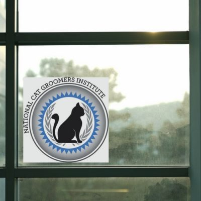 logo window cling