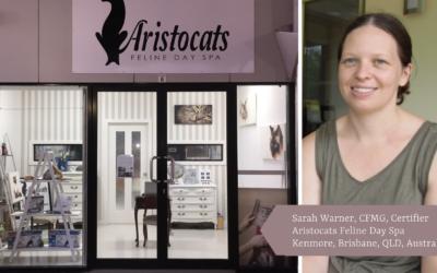Danelle Drops In on  Sarah Warner of Aristocats Feline Day Spa in Kenmore, Brisbane, Queensland, Australia